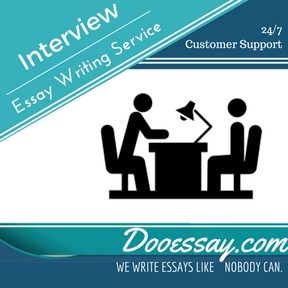 Interview Essay Writing Service