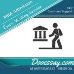 MBA Admission Essay Writing Service