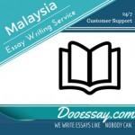 Malaysia Essay Writing Service