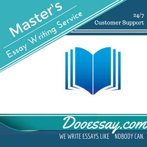 Master's Essay Writing Service