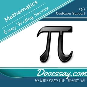 Mathematics Essay Writing Service