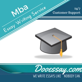 Essay writing service for mba