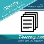 Obesity Essay Writing Service