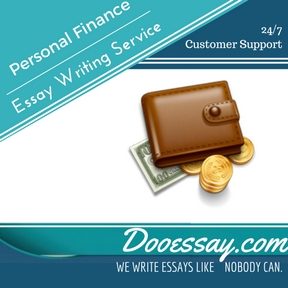 Personal Finance Essay Writing Services