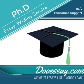 Ph.D Essay Writing Service