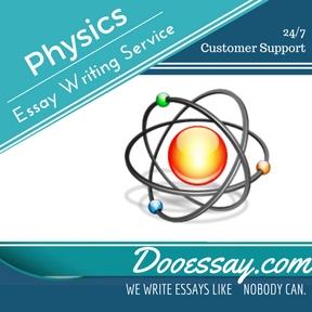 Physics Essay Writing Service