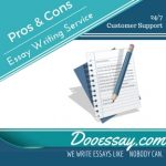 Pros & Cons Essay Writing Service