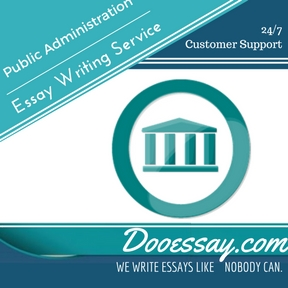 Public Administration Essay Writing Service