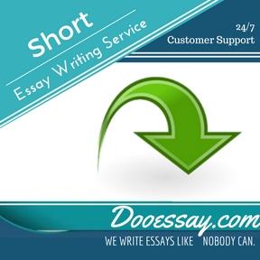 Short Essay Writing Service