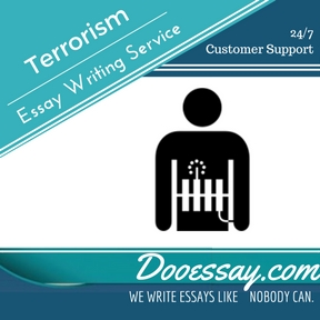 Terrorism Essay Writing Service