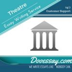 Theatre Essay Writing Service