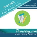 Thematic Essay Writing Service