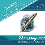 Toronto Essay Writing Service
