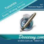 Toronto Essay Writing Service
