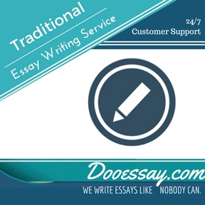 Traditional Essay Writing Service