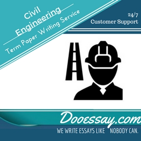 Civil Engineering Term Paper Writing Service