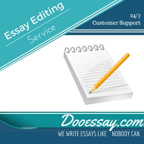 Essay Editing Services Essay Writing Service