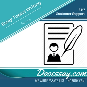 Essay Topics Writing Service Essay Writing Service