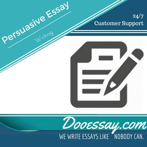 A Persuasive Essay Writing Service - CustomEssayMeister