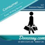 Consumer Essay
