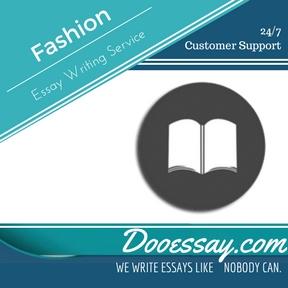 Fashion Essay Writing Service