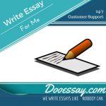 Write Essay For Me